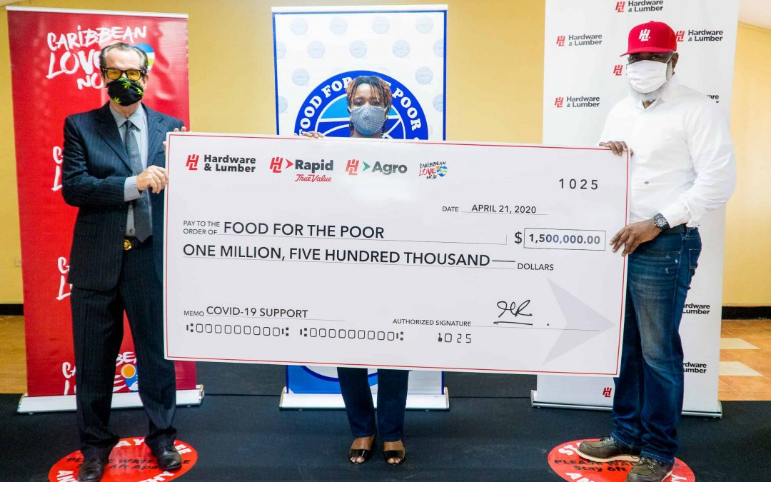 H&L DONATES TO FOOD FOR THE POOR'S COVID-19 RESPONSE